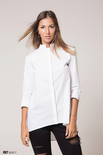 woman shirt in white